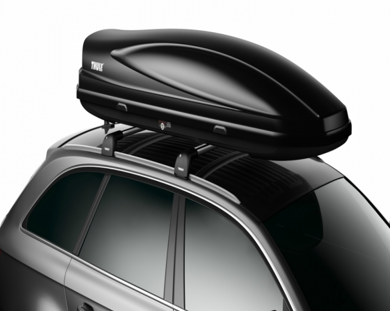 Roof top cargo boxes by Thule and Yakima