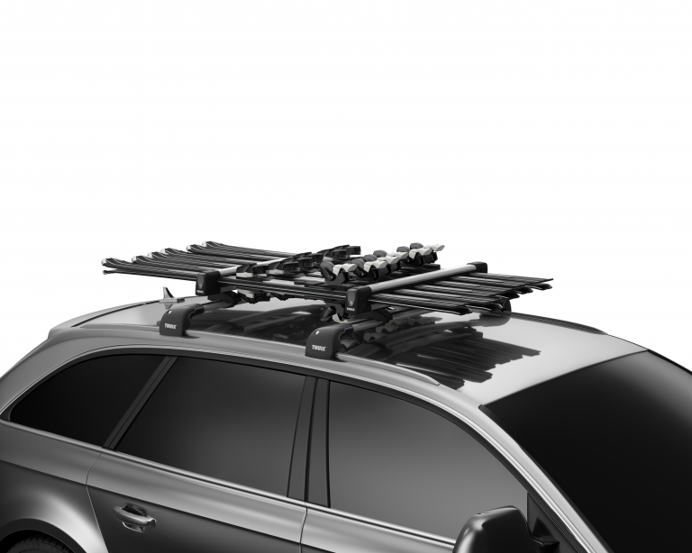 ski racks from Yakima, Thule, and Rhino Rack