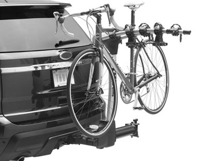 Hitch Mast-Style Bike Racks by Thule and Yakima
