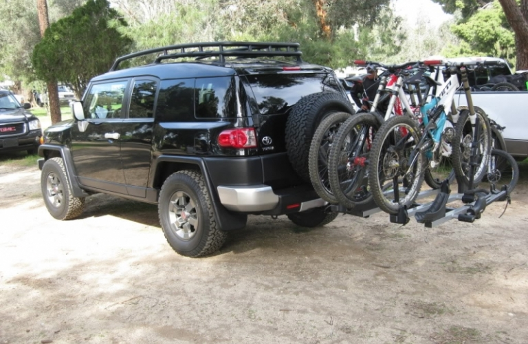 Rent Hitch Mounted Bike Racks