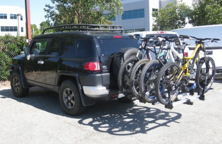 Rent Hitch Mounted Bike Rack Open Road Outfitter
