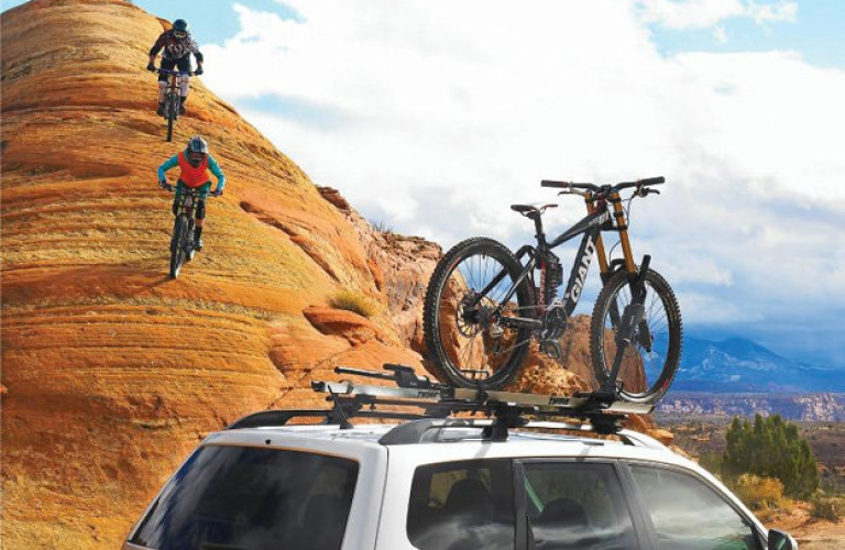 Rent Roof Mounted Bike Racks Open Road Outfitter