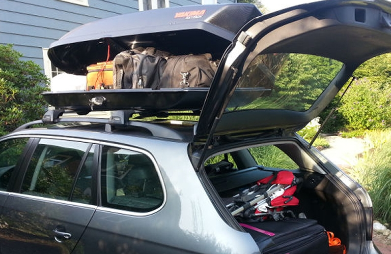 Rooftop Cargo Carrier Rental >> Rent Cargo Boxes Roof Box Open Road Outfitter